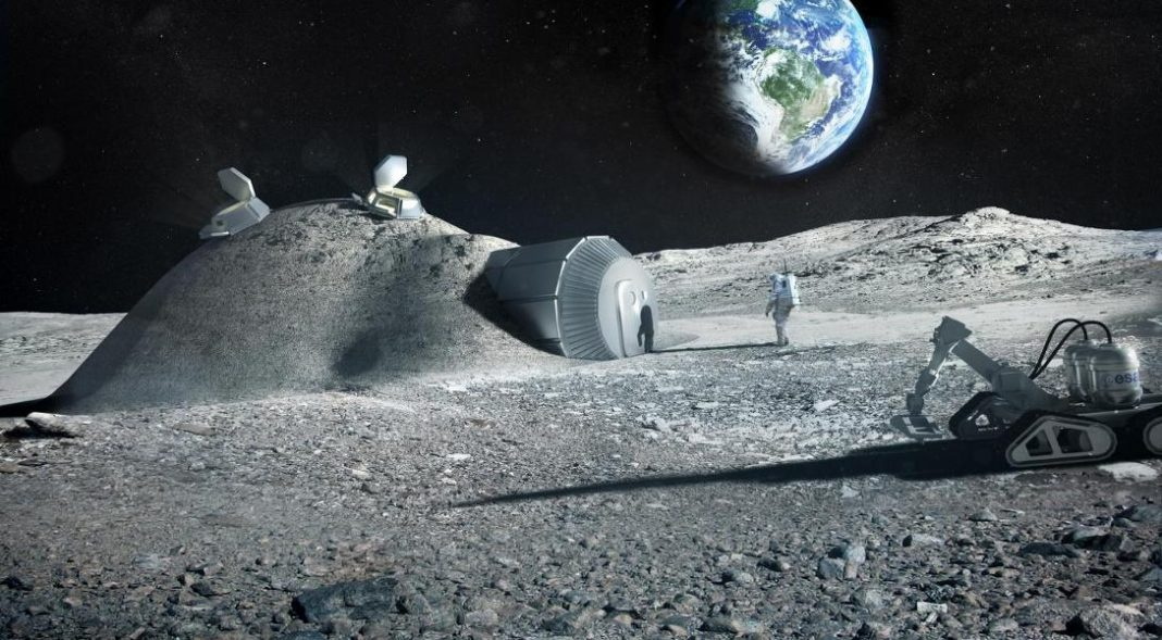 Astronauts Could Use Their Own Urine To Make A Moon Base From 'Space Concrete'