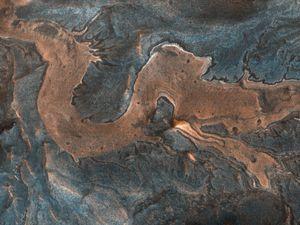 NASA spots a 'dragon' on Mars