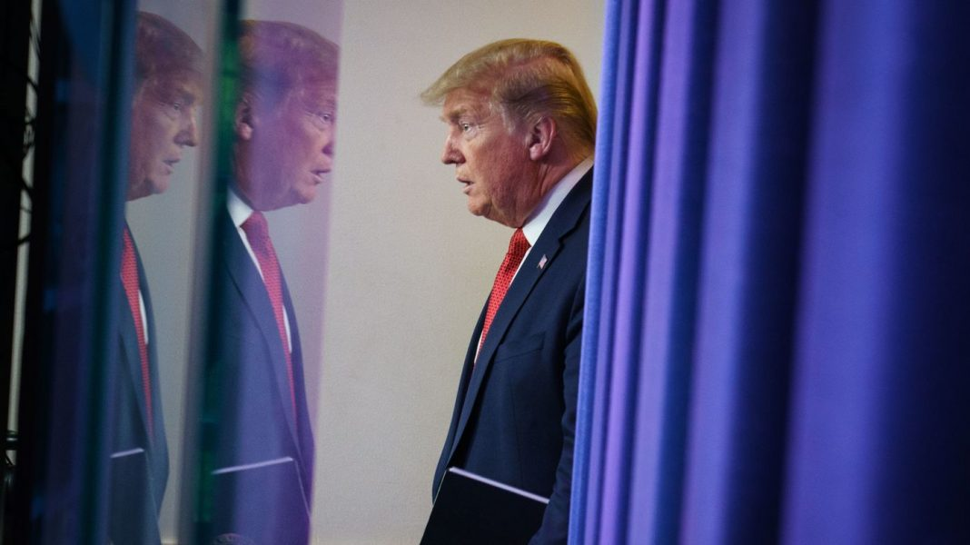 In COVID Briefings, Trump Again Relies On Both Shock And Strategic Retreat
