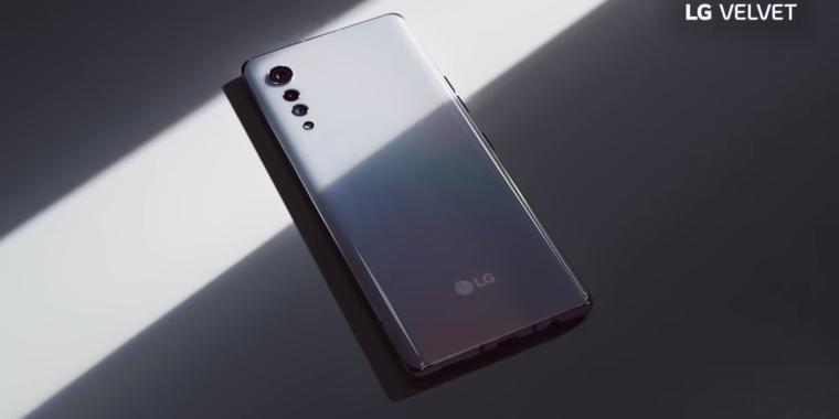 "LG's ""Velvet"" smartphone packs a Snapdragon 765 and headphone jack"