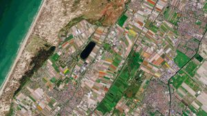 See the Dutch tulip fields bloom in radiant views from space