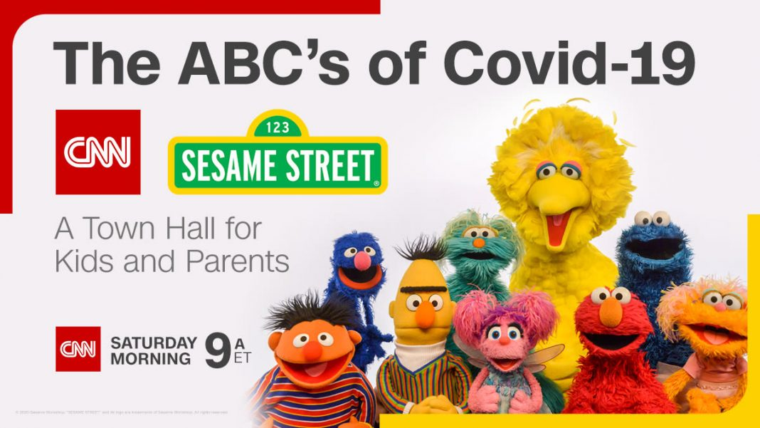Attend Sesame Street and CNN's Virtual COVID-19 Town Hall