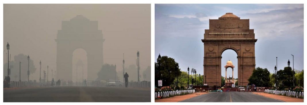 Earth Is Wilder & Cleaner As People Stay Home – Before & After Images