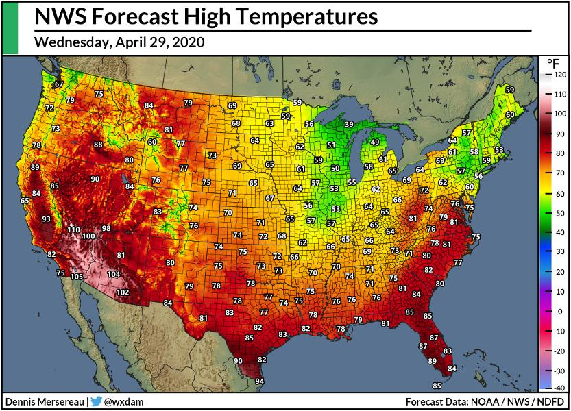Las Vegas Could See Its Earliest 100°F Reading Ever Recorded On Wednesday