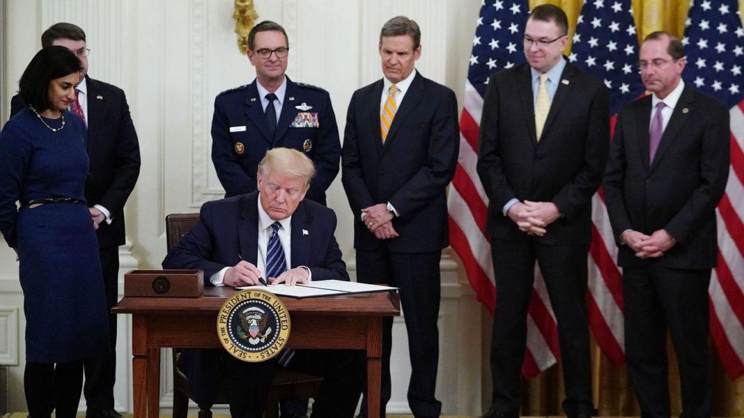 Trump Announces Panel To Look At Nursing Home Responses To Coronavirus Outbreak