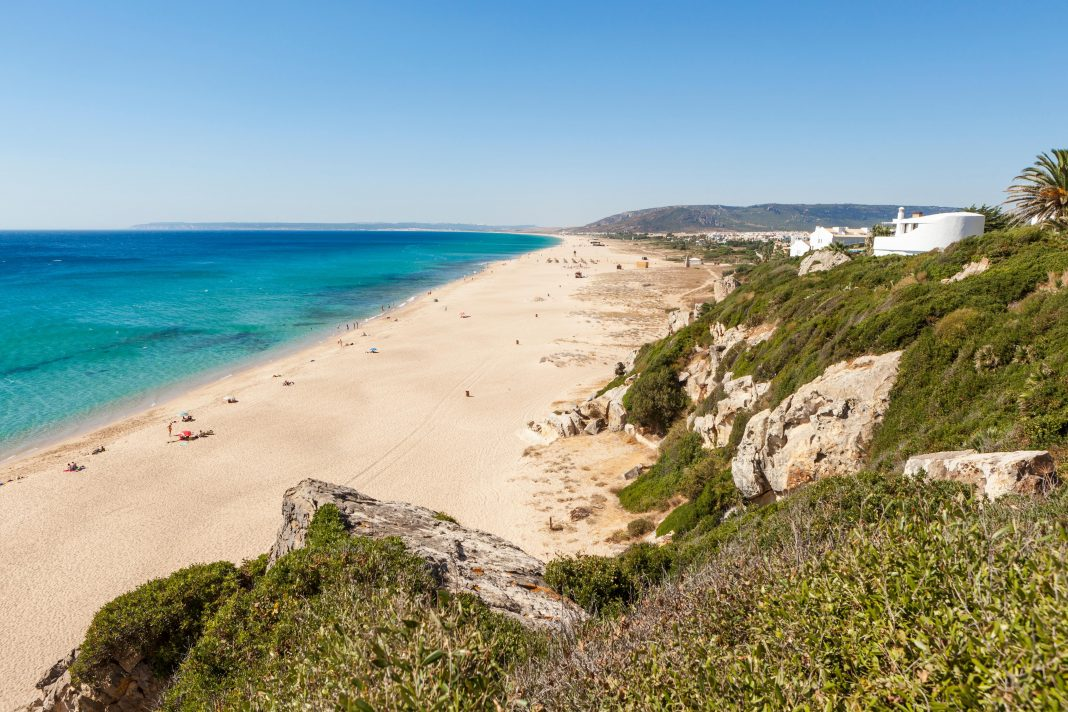 This Beach In Spain Was Sprayed With Bleach To Kill COVID-19
