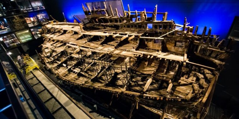 X-rayed artifacts from famed shipwreck shed light on secrets of Tudor armor