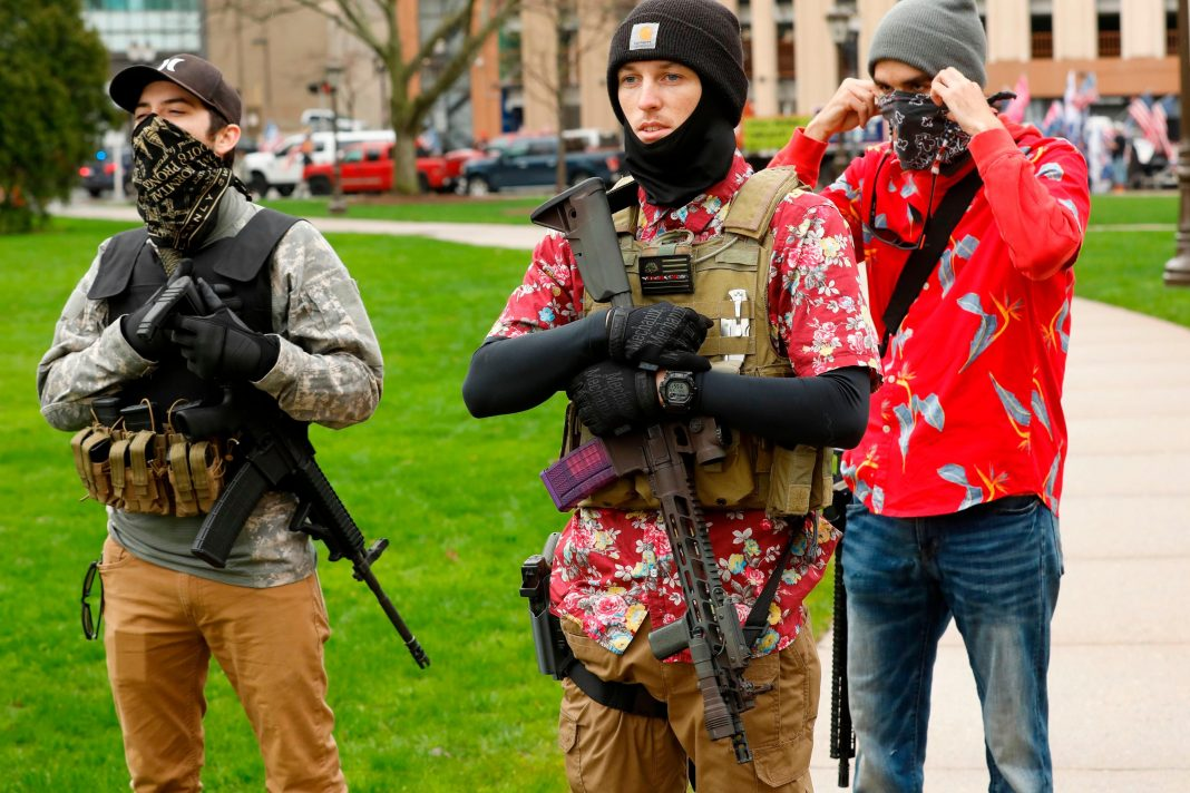 Psychology Research Helps Explain Why People Bring Guns To Protests
