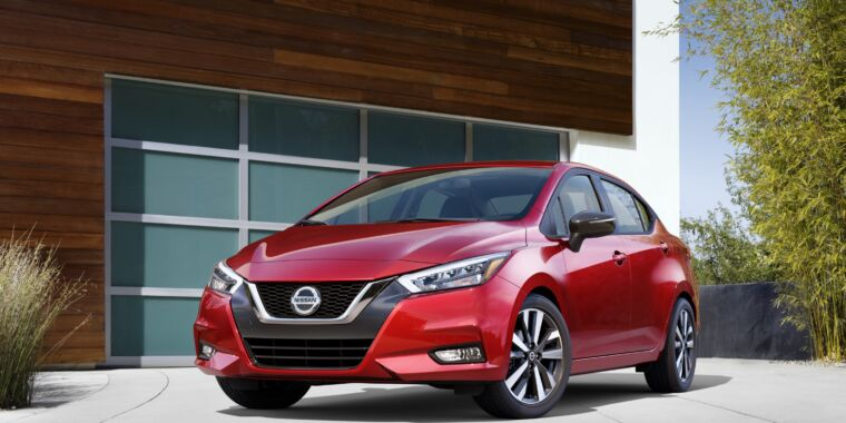 This is Nissan's cheapest new car (and also one of its better ones)