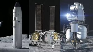 These are the lunar landers that could take humans back to the moon video
