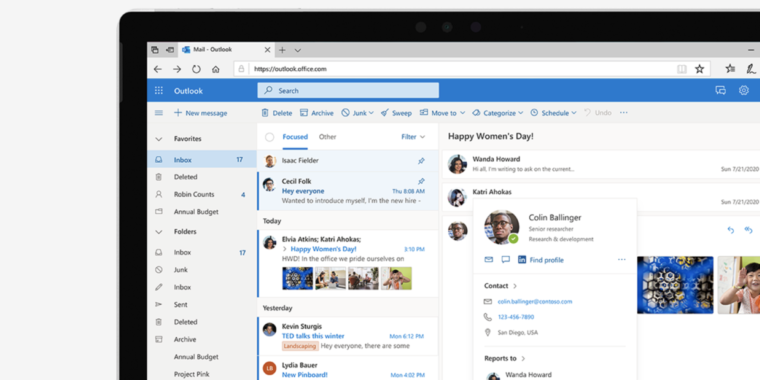 Microsoft plans to add Gmail-like predictive text to Outlook for the Web