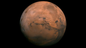 Salty water might exist on Mars, but it's probably too cold for life