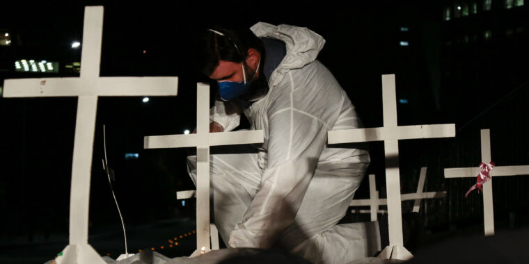 Reports of mass graves as Latin America becomes new pandemic epicenter