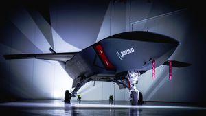 See Boeing Australia's first prototype military drone, Loyal Wingman video