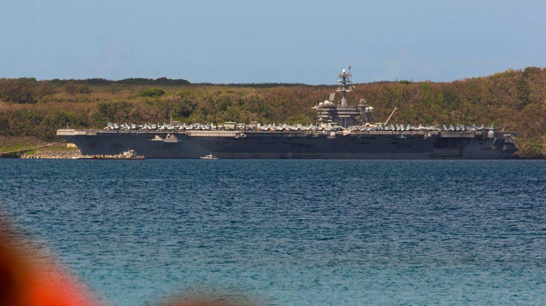 13 USS Roosevelt Sailors Test Positive For COVID-19, Again