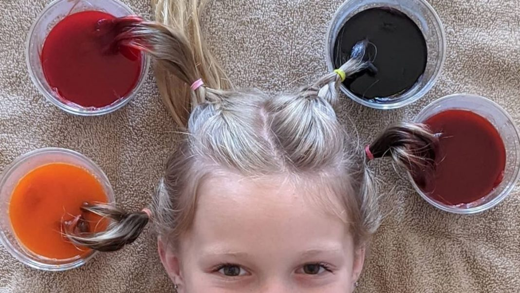 Dye Your Kid's Hair With Kool-Aid