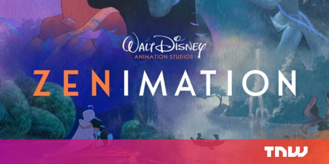 Disney debuts Zenimation, which mixes soothing sounds with familiar art