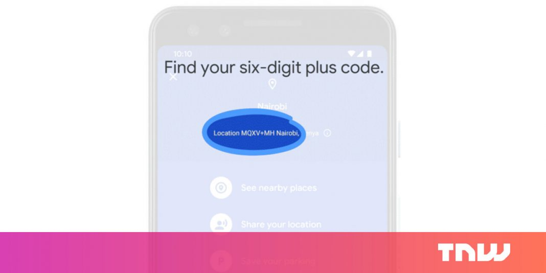 Google Maps makes it easier to share your location with Plus Codes — no address required
