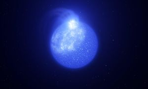 Extremely hot stars are plagued by magnetic spots and prone to exploding