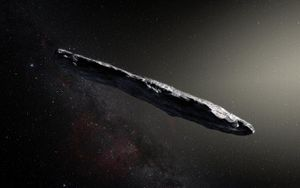 Cosmic interloper Oumuamua may not have been aliens, but a strange ice cube