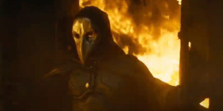 A detective hunts a costumed vigilante in Major Grom: Plague Doctor trailer