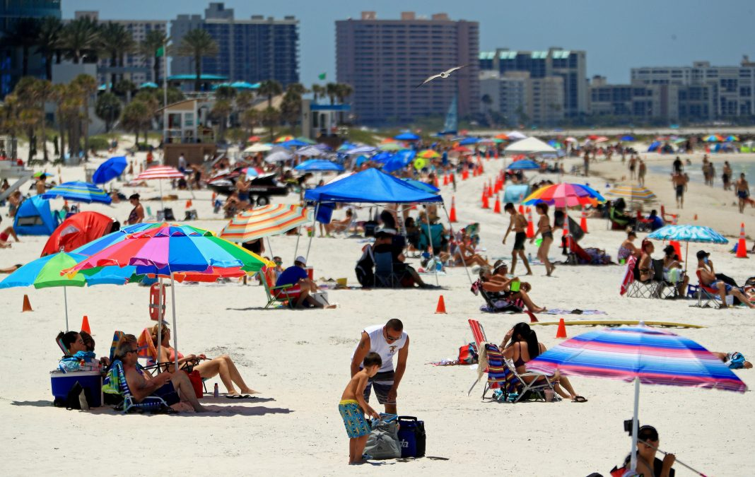 Florida Records Highest Number Of Coronavirus Cases In One Day During Ominous Week