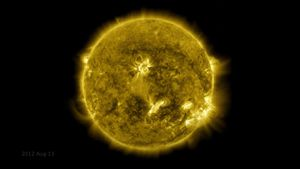 Watch NASA's epic 10-year time-lapse video of the sun's fiery adventures