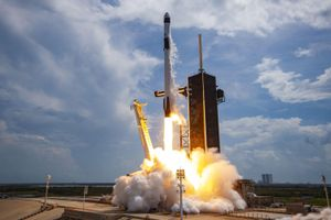 SpaceX launches GPS satellite for US Space Force while chasing record