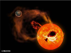 Astronomers catch massive stellar flares on nearby small star AD Leonis