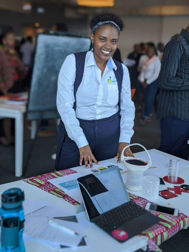 How Is This Rwandan Building A Brighter Future For Girls? Solar Kits!
