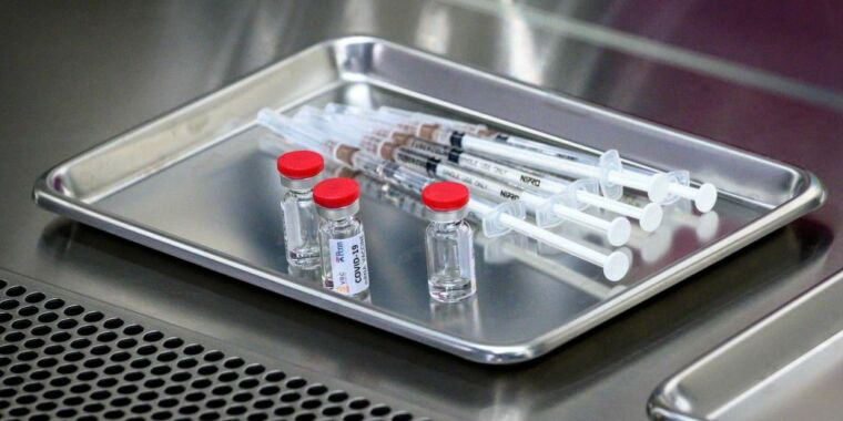 Russia-linked hackers accused of targeting COVID-19 vaccine developers