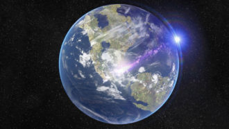An asteroid impact, not volcanism, may have made Earth unlivable for dinosaurs