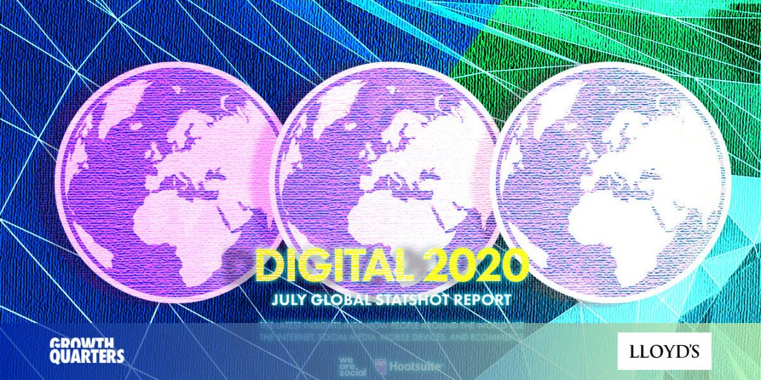 Global digital and social media usage July 2020 — everything you need to know