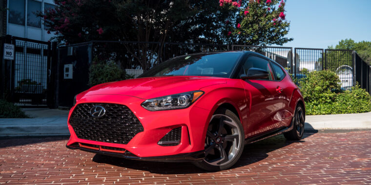 The 2020 Hyundai Veloster Turbo—save your cash and buy the manual