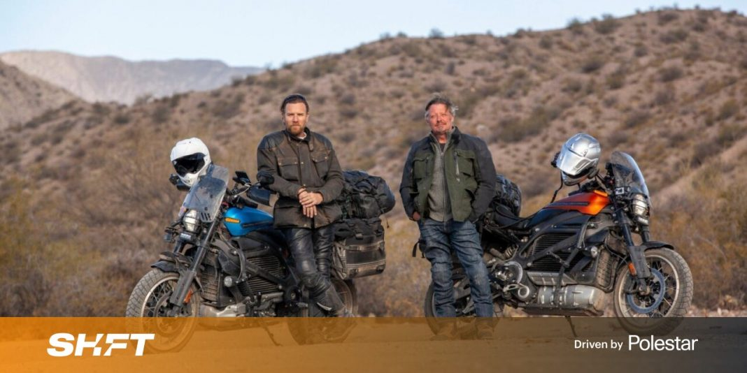 Ewan McGregor rides an electric Harley length of South America in new Apple TV+ show