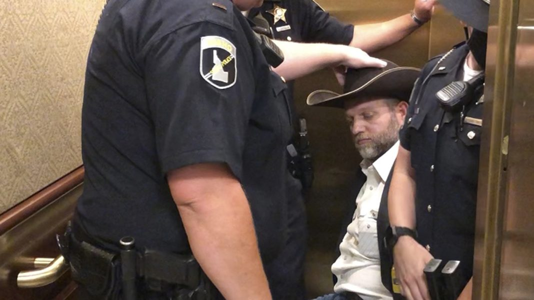 Ammon Bundy Is Arrested — And Wheeled Out Of The Idaho Statehouse