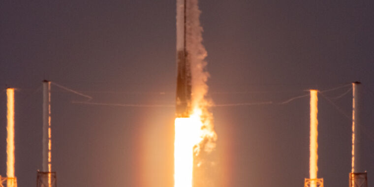 SpaceX launched a Falcon 9 rocket Sunday that was historic for two reasons