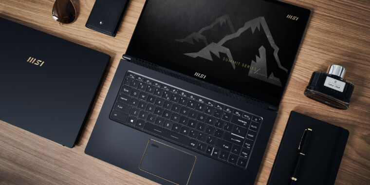 MSI buttons up, launches Summit business laptops with Tiger Lake