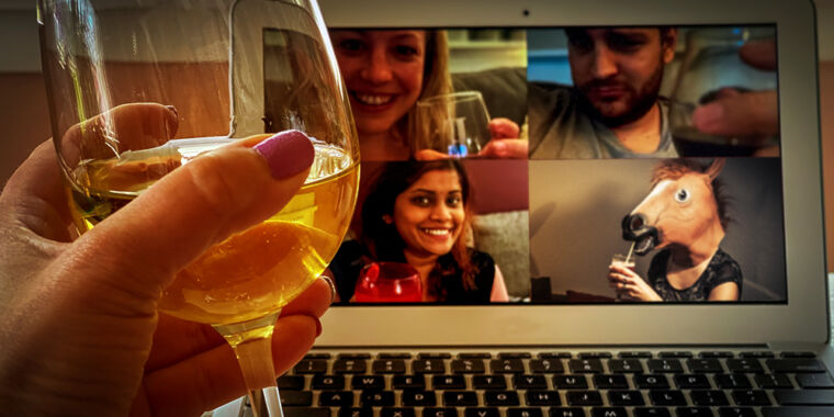How Ars Technica's tech-savvy staffers conduct happy hours in locked-down 2020