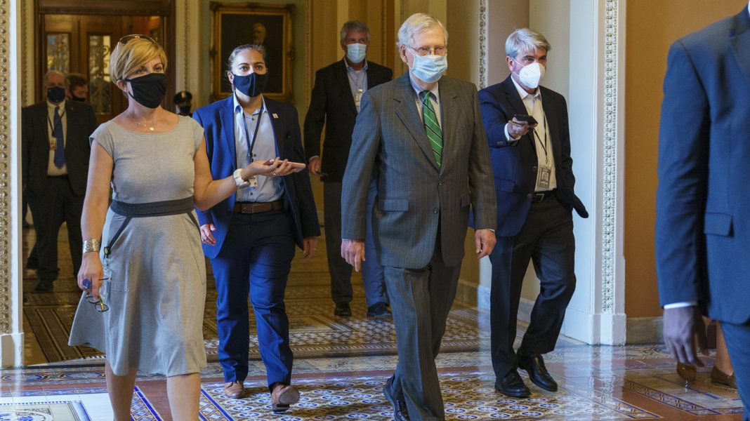 "McConnell Proposes Pandemic Relief Bill, Democrats Quickly Dismiss It As ""Emaciated"""
