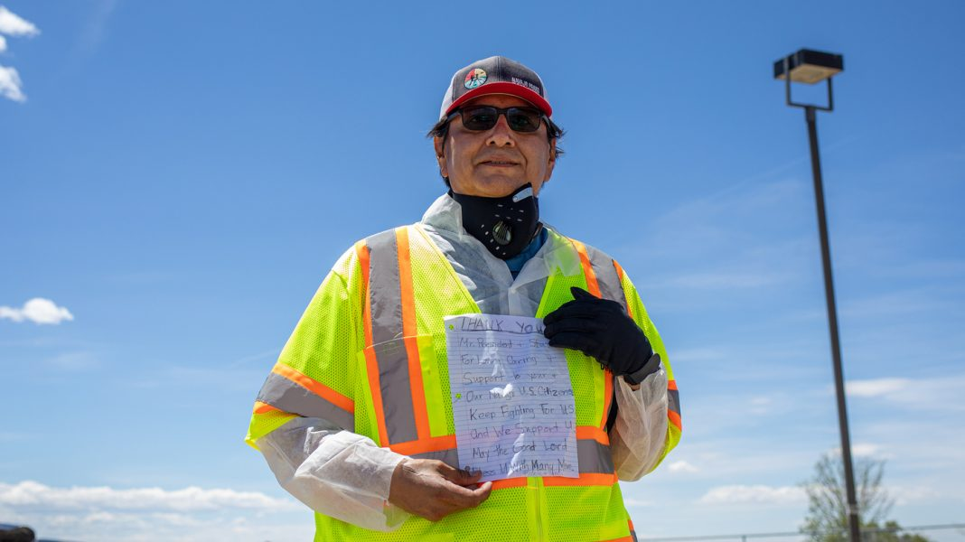 To Limit COVID-19, Navajo Leader Says: 'Listen To Your Public Health Professionals'