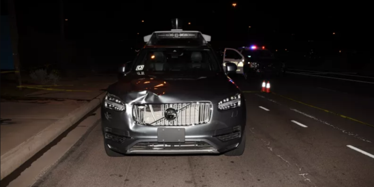 Safety driver in 2018 Uber crash is charged with negligent homicide