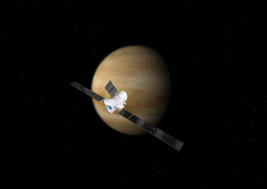 In A Complete Fluke, A European Spacecraft Is About To Fly Past Venus – And Could Look For Signs Of Life