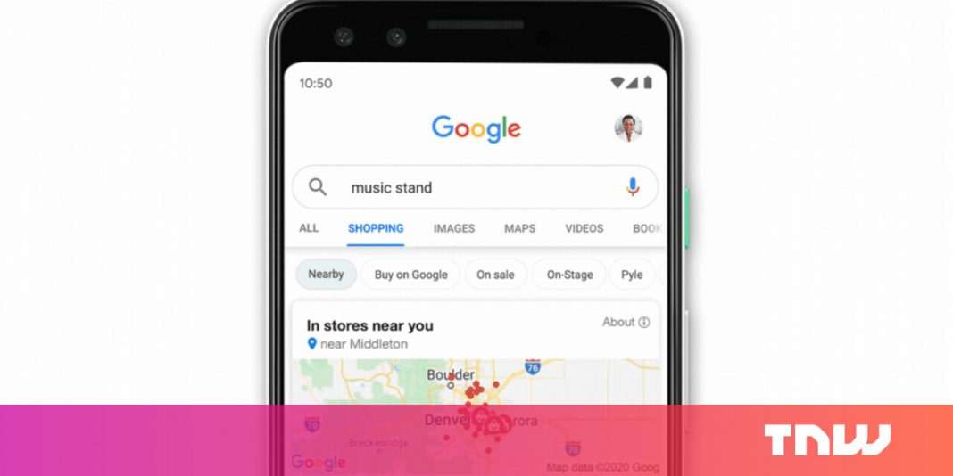 Google Shopping now lets you browse products in a Maps-like interface