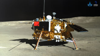 A new moon radiation measurement may help determine health risks to astronauts