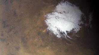 A 'lake' on Mars may be surrounded by more pools of water