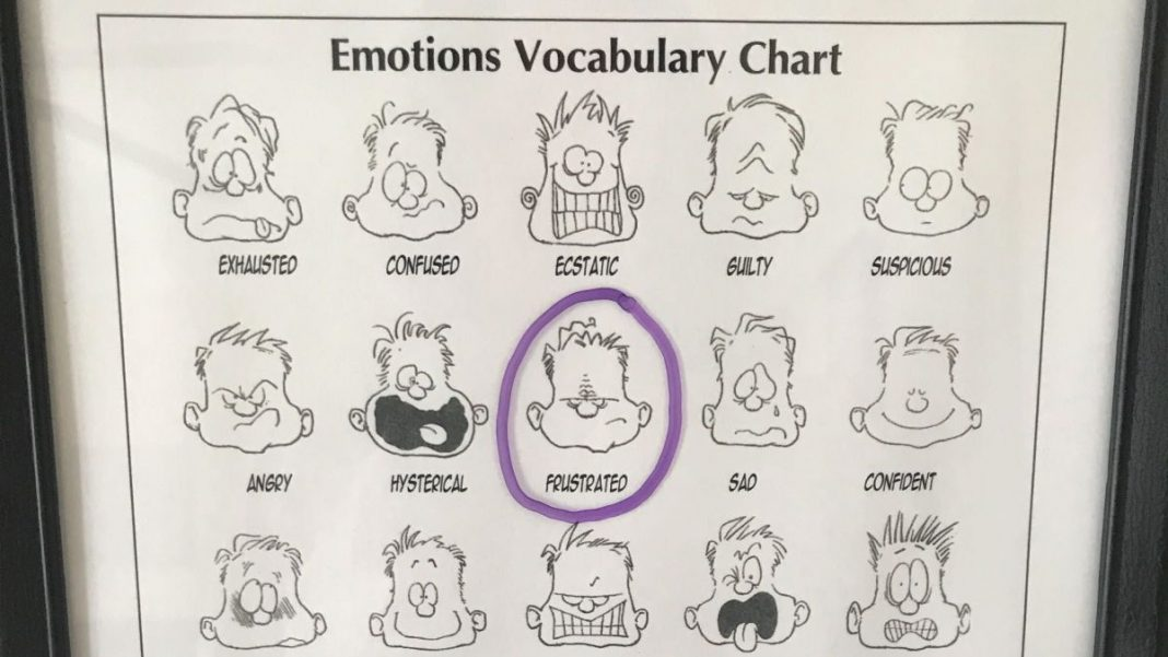 For Your Own Kids, Recreate the 'Feelings Chart' From Your Childhood