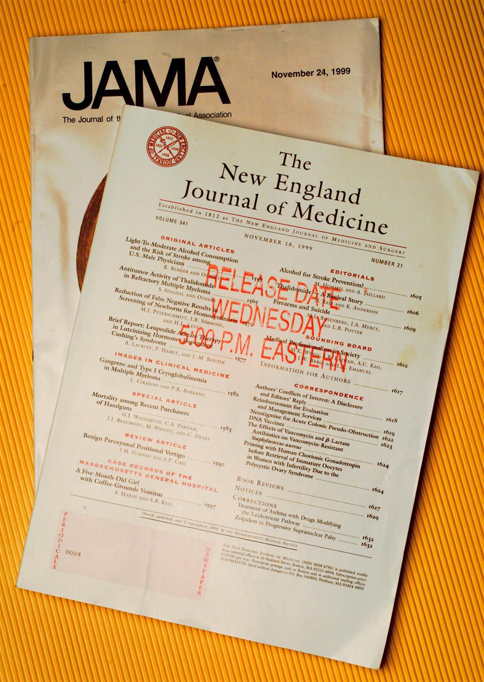 New England Journal Of Medicine Takes Stance On Presidential Election For First Time Ever