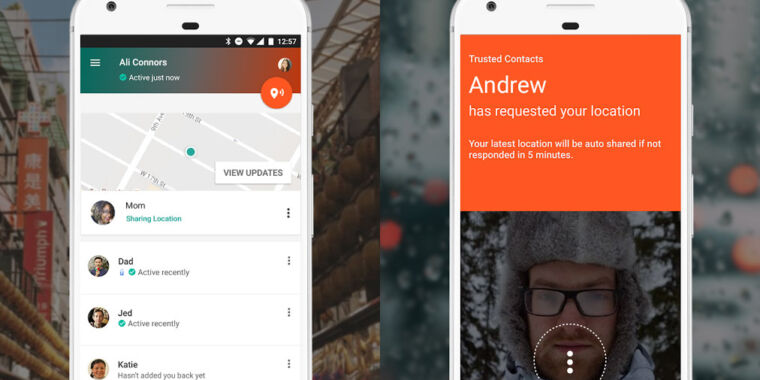 Google shuts down Trusted Contacts, its emergency location sharing app