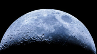 Water exists on sunny parts of the moon, scientists confirm